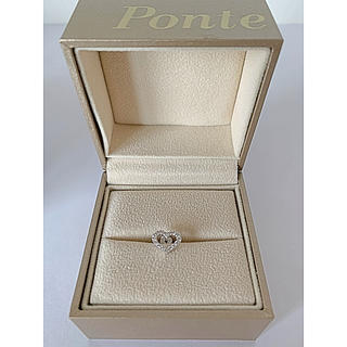 PonteVecchio - みいみ様専用☆定価約7万円・片耳分・プレーティング済のほぼ新品☆ポンテヴェキオ・