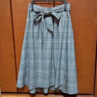 ハニーズ(HONEYS)のHoneys ハニーズ 巻きスカート風チェック柄スカート(ひざ丈スカート)