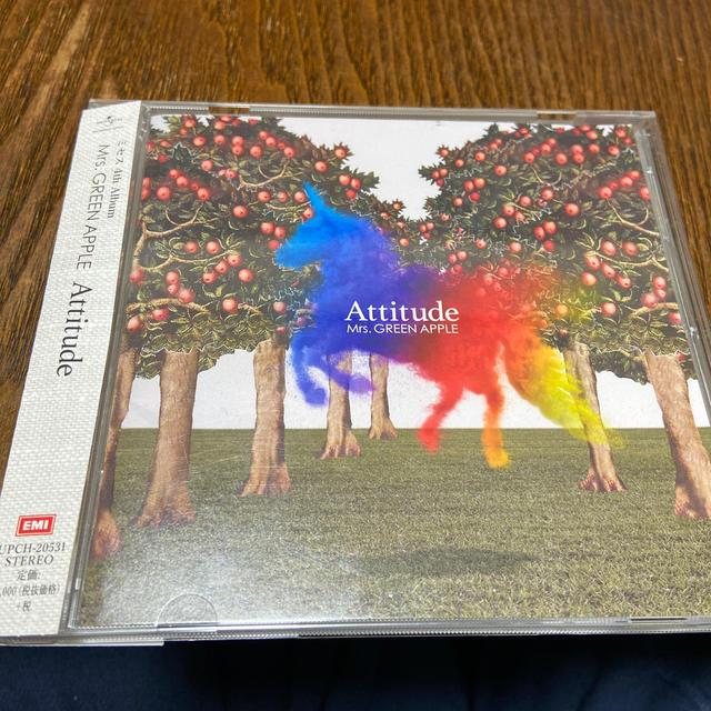Attitude エンタメ/ホビーのCD(ポップス/ロック(邦楽))の商品写真