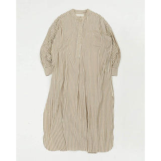 TODAYFUL - Stripe shirt dress 38♡écru