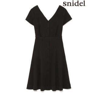 snidel - スナイデル♡フィット&フレアワンピース