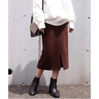 フレームワーク(FRAMeWORK)のフレームワーク スムースタイトスカート 新品(ひざ丈スカート)