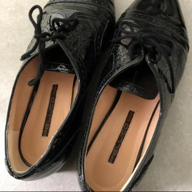 PELLICO(ペリーコ)のペリーコ サニー レーアップシューズ レディースの靴/シューズ(ローファー/革靴)の商品写真