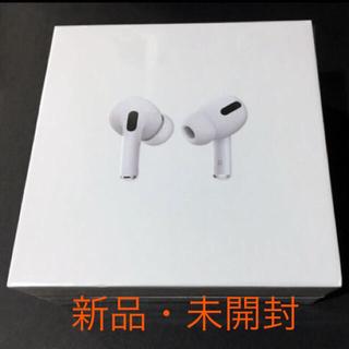 Apple - 新品未開封AirPods pro 第2世代 Apple ワイヤレスイヤホン