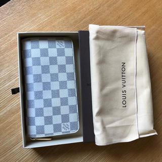ルイヴィトン(LOUIS VUITTON)の良品 正規品 ルイヴィトン アズール ジッピーウォレット(財布)
