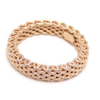 ティファニー(Tiffany & Co.)のティファニー サマセット 18金 ピンクゴールド リング(リング(指輪))