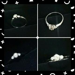 プラチナダイヤモンドリング pt900