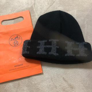 エルメス(Hermes)のHERMESニット帽 エルメスニット帽子(ニット帽/ビーニー)