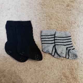 ムジルシリョウヒン(MUJI (無印良品))の無印 ベビー 靴下 2足セット(その他)