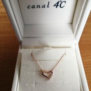 canal4℃ - カナル4℃ K10 ネックレス