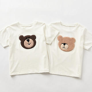 one after another NICE CLAUP - 新品 NICE CLAUP かなしいクマ  Tシャツ