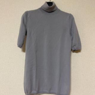 サルヴァトーレフェラガモ(Salvatore Ferragamo)のフェラガモ ハイゲージ半袖ニットS(ニット/セーター)
