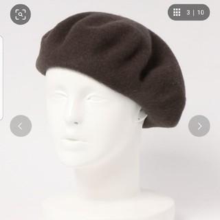 ローリーズファーム(LOWRYS FARM)のローリーズファーム 焦げ茶色ベレー帽(ハンチング/ベレー帽)