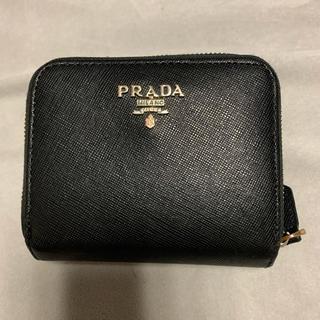 PRADA - PRADA 二つ折り財布 ブラック 黒
