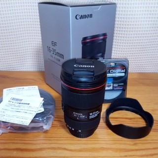 Canon - 美品 フィルター付き Canon EF16-35mm F4L IS USM