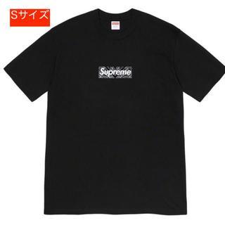 Supreme - Supreme Bandana box logo tee Sサイズ