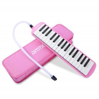 鍵盤ハーモニカ 32鍵 ピアノスタイル(ピンク) 251