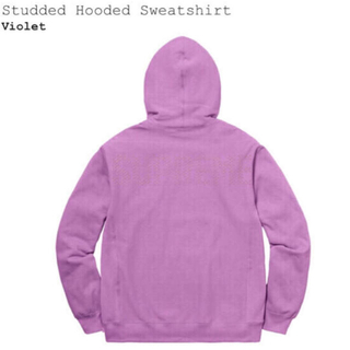Supreme - 新古品 Supreme Studded Hooded Mサイズ