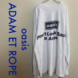 アダムエロぺ(Adam et Rope')のoasis ADAM ET ROPE  SONG LYRICS Shirts  (Tシャツ/カットソー(七分/長袖))