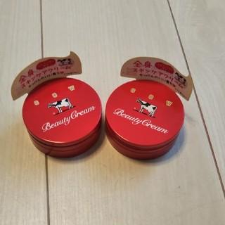 ギュウニュウセッケン(牛乳石鹸)の赤箱ビューティクリーム(ボディクリーム)
