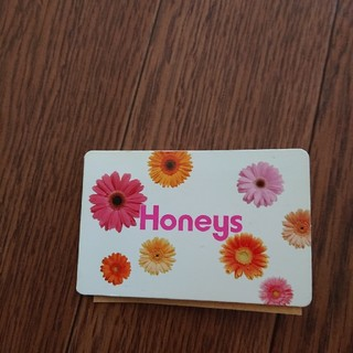 HONEYS - ハニーズ ポイントカード  満タン