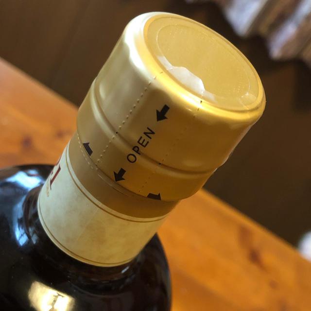 ニッカウヰスキー(ニッカウイスキー)の竹鶴 21年 ピュアモルト 箱無し 食品/飲料/酒の酒(ウイスキー)の商品写真