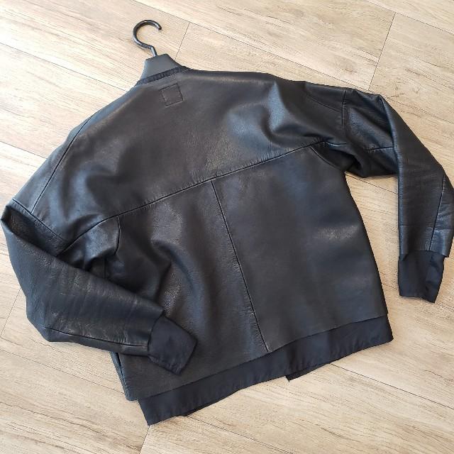 SUNSEA(サンシー)のSUNSEA 17SS CUT OFF BIKER BLOUSON メンズのジャケット/アウター(ブルゾン)の商品写真