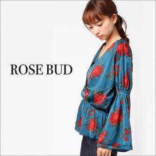 ROSE BUD - ROSE BUD フラワープリント ブラウス♡ships 組曲 イエナ イネド