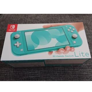Nintendo Switch - 【新品】Nintendo Switch Lite ターコイズ