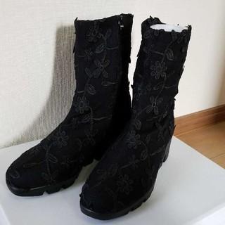 ブーツ 黒 ポポラーレ