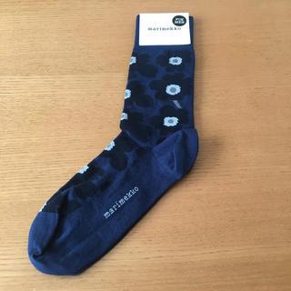 マリメッコ(marimekko)のゆかちま様専用 新品未使用 マリメッコ ウニッコ メンズ ソックス 靴下(ソックス)