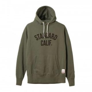 STANDARD CALIFORNIA - SD PULLOVER HOOD SWEAT W/LOGO 限定ステッカー付