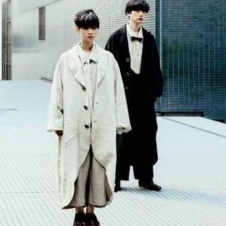 Yohji Yamamoto - 経年真価のコート2016SS (生成り)