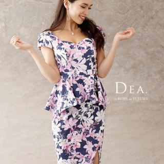ローブ(ROBE)のローブドフルール DEA ドレス キャバ 美品 S(ナイトドレス)