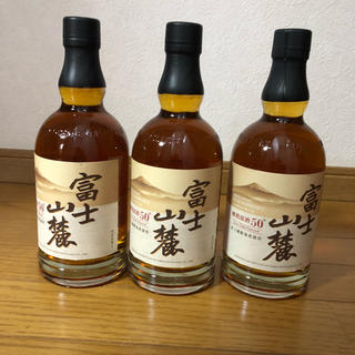キリン(キリン)の富士山麓 樽熟原酒50度 ウィスキー 700ml 3本セット(ウイスキー)