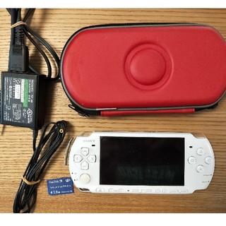 プレイステーションポータブル(PlayStation Portable)のpsp-3000 セット(携帯用ゲーム機本体)