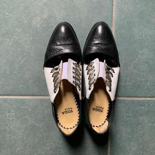 TOGA - 【2/23までお値下】TOGA pullaトーガプルラ靴サンダルフラットシューズ