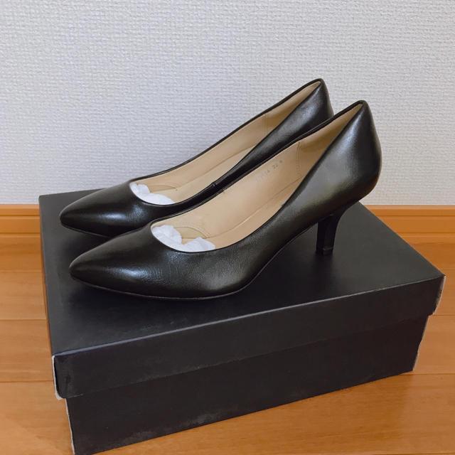 DIANA(ダイアナ)のILIMA ハイヒールパンプス ブラック 22.5 レディースの靴/シューズ(ハイヒール/パンプス)の商品写真