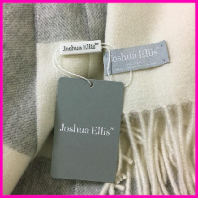Johnstons(ジョンストンズ)の【新作・新品】ジョシュアエリス カシミア100% 大判ストール レディースのファッション小物(マフラー/ショール)の商品写真