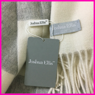 Johnstons - 【新作・新品】ジョシュアエリス カシミア100% 大判ストール