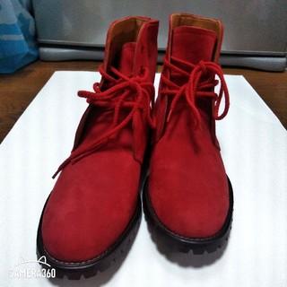 ピンクハウス(PINK HOUSE)のピンクハウス 赤ブーツ(ブーツ)