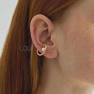 Ron Herman - j305.small pearl hoop ear cuff(gold)