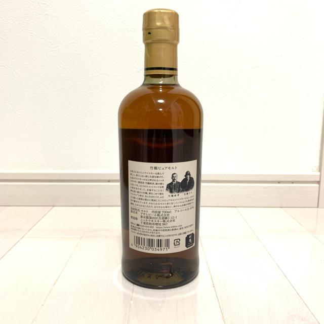 ニッカウヰスキー(ニッカウイスキー)の※週末特価※竹鶴 ピュアモルト 食品/飲料/酒の酒(ウイスキー)の商品写真