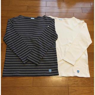 ORCIVAL - オーチバル フレンチバスクシャツ 2枚組