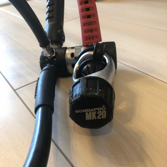 SCUBAPRO(スキューバプロ)のレギュレータ MK20 スキューバプロ スポーツ/アウトドアのスポーツ/アウトドア その他(マリン/スイミング)の商品写真