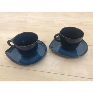 Francfranc - コーヒーカップ&ソーサー 2客セット フランフラン