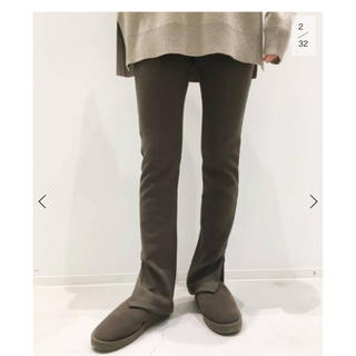L'Appartement DEUXIEME CLASSE - L'Appartement Wool Zip Leggings  ブラウン