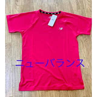 ニューバランス(New Balance)の新品未使用!!タグ付き!!ニューバランス レディースTシャツ(トレーニング用品)