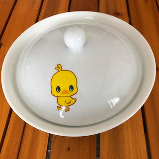 ニッシンショクヒン(日清食品)のチキンラーメン どんぶり 蓋付(食器)