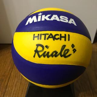 女子バレー  女子バ女子バレー日立リヴァーレ選手の直筆サイン入りボール